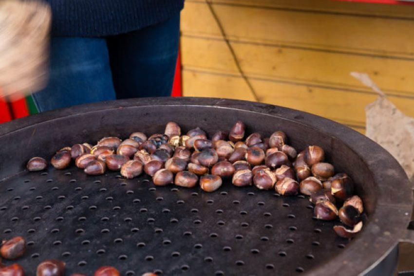 Roasted Chestnuts from the European Christmas markets