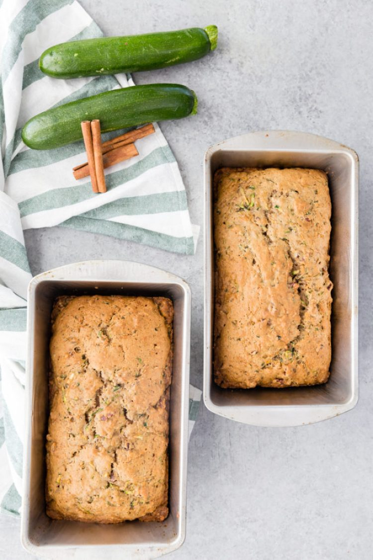 Bake the zucchini bread, it is easy to do and should be cooled in the loaf pan for 10 minutes