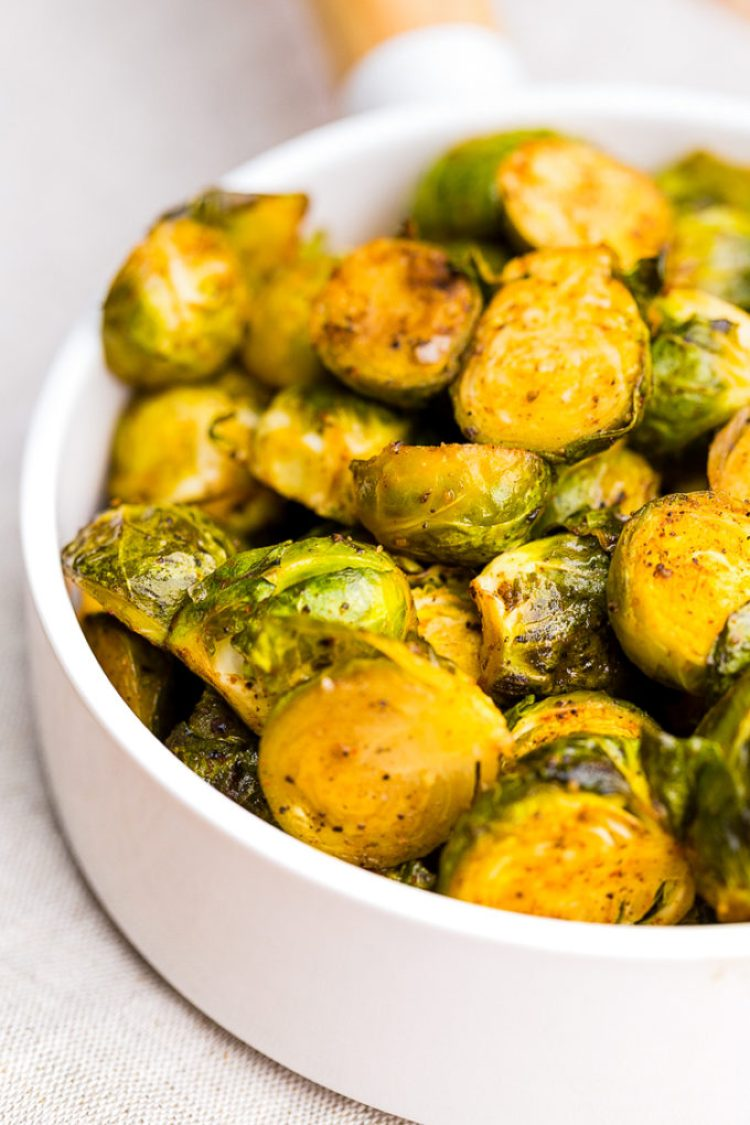 Roasted Brussel Sprouts are crispy and tasty and absolutely delicious.