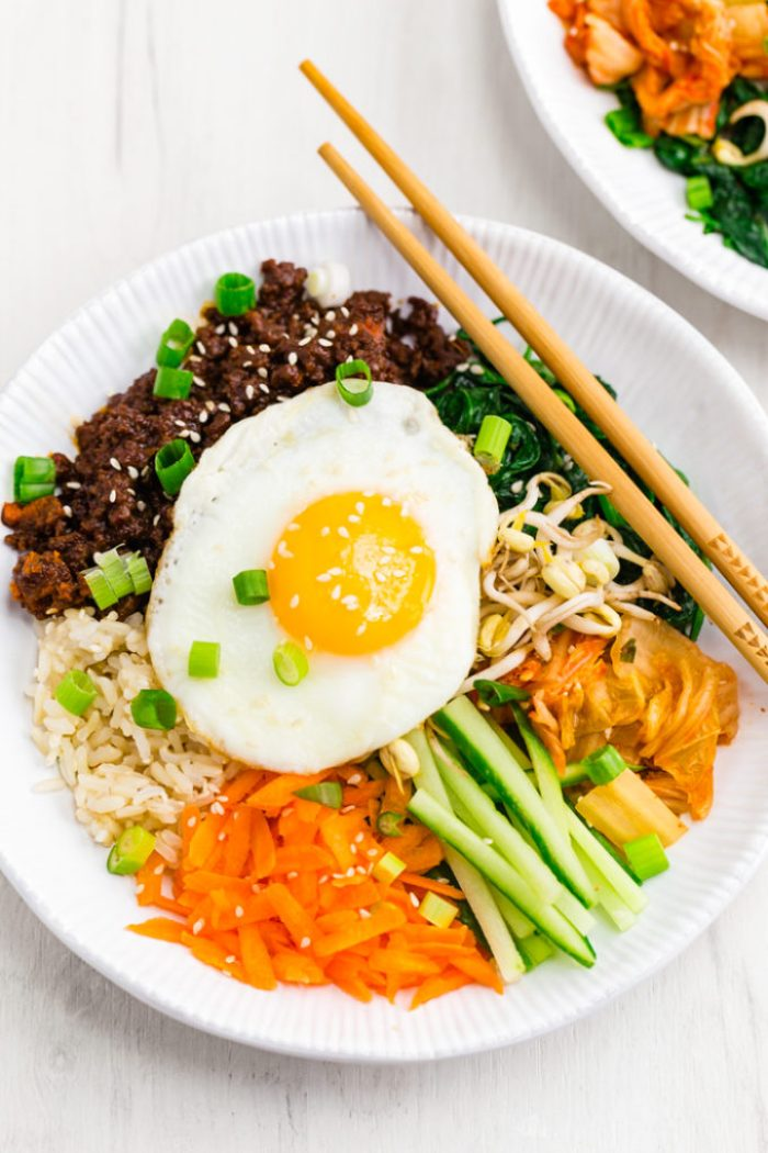 Bibimbap Korean Beef Bowls Easy Peasy Meals
