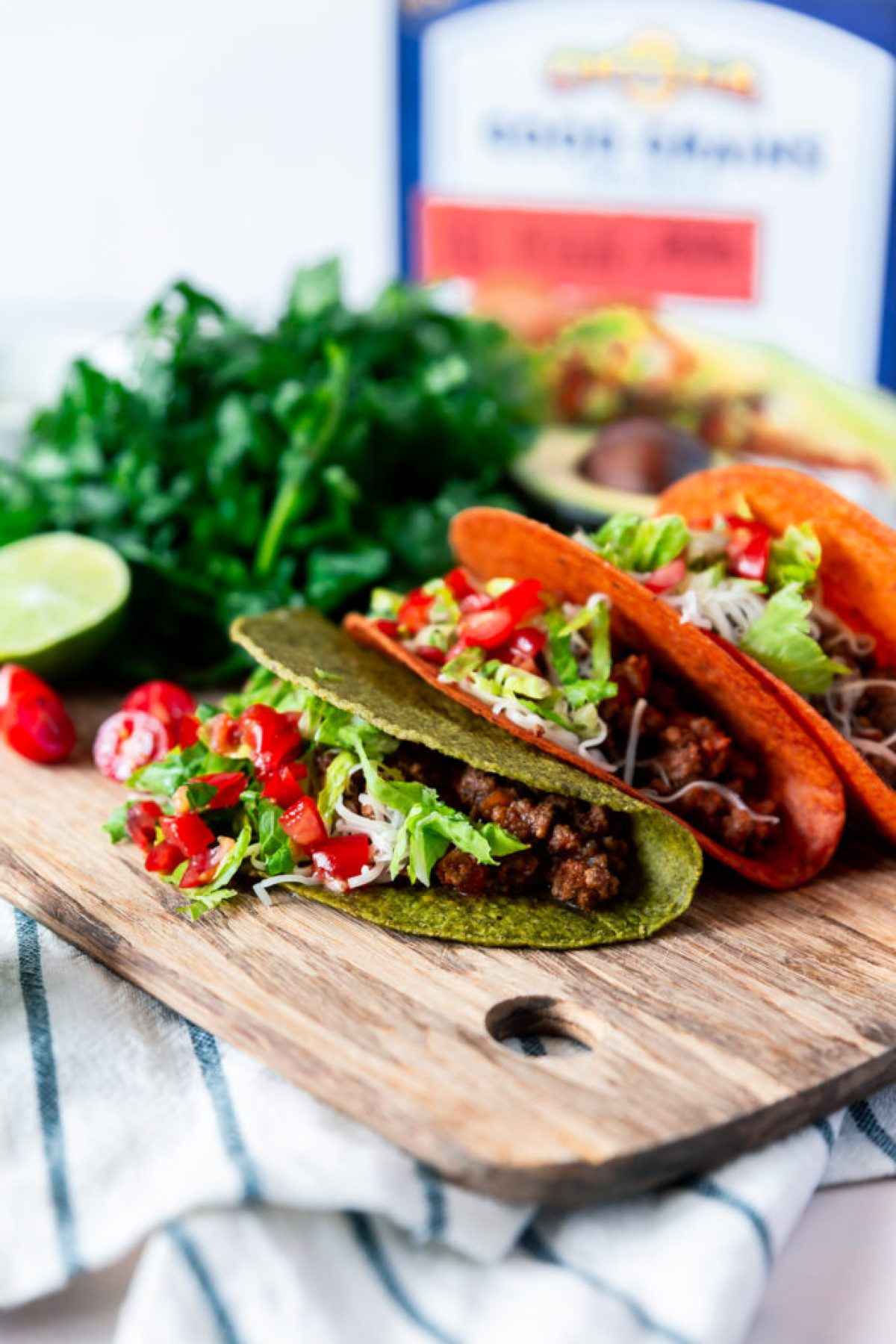 30 minute easy ground beef tacos