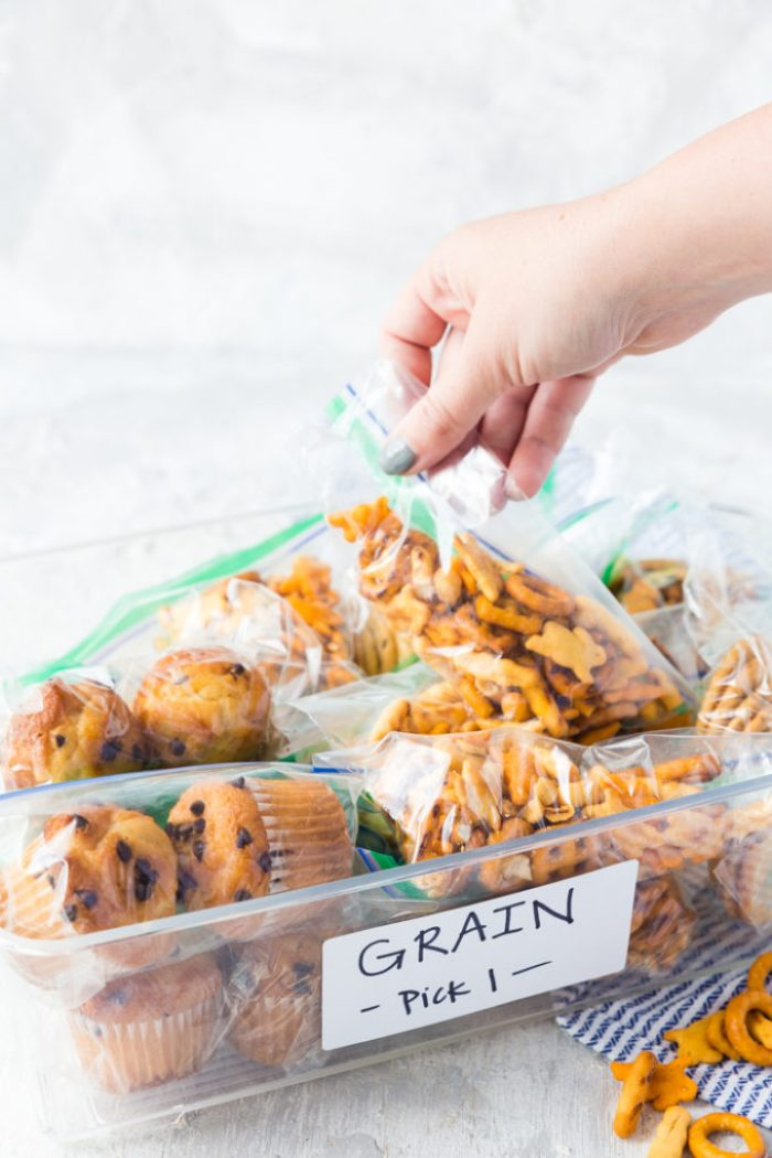 Let the kids choose what they want in their lunches
