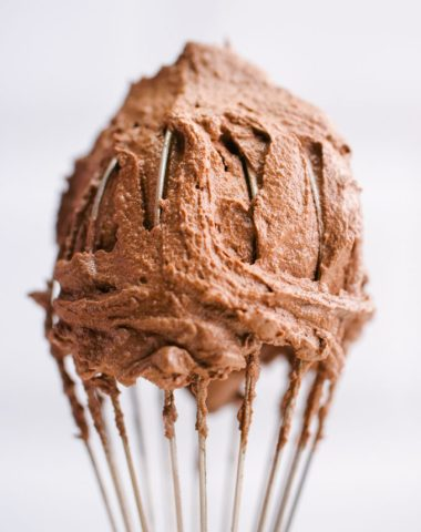 Chocolate Buttercream icing