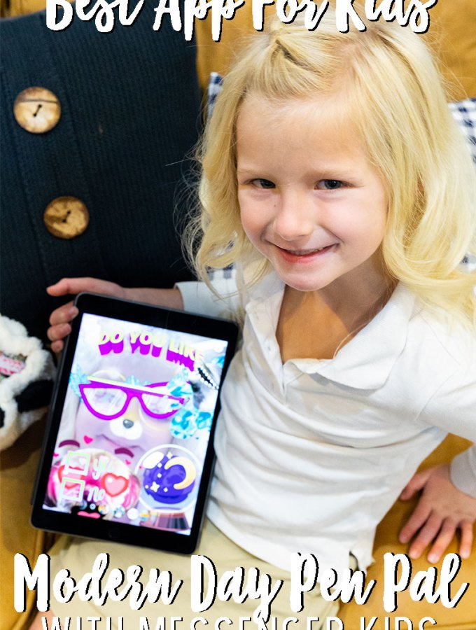 Best apps for kids, modern day pen pal