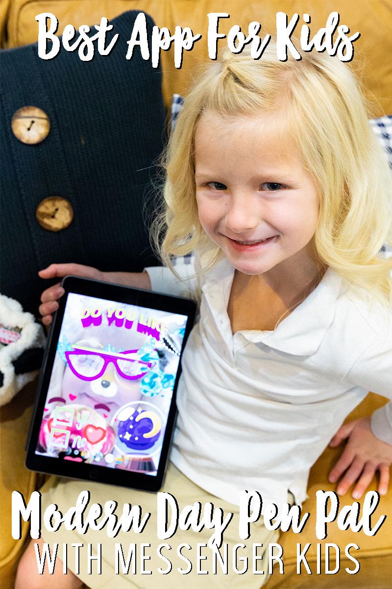 Best apps for kids, modern day pen pal
