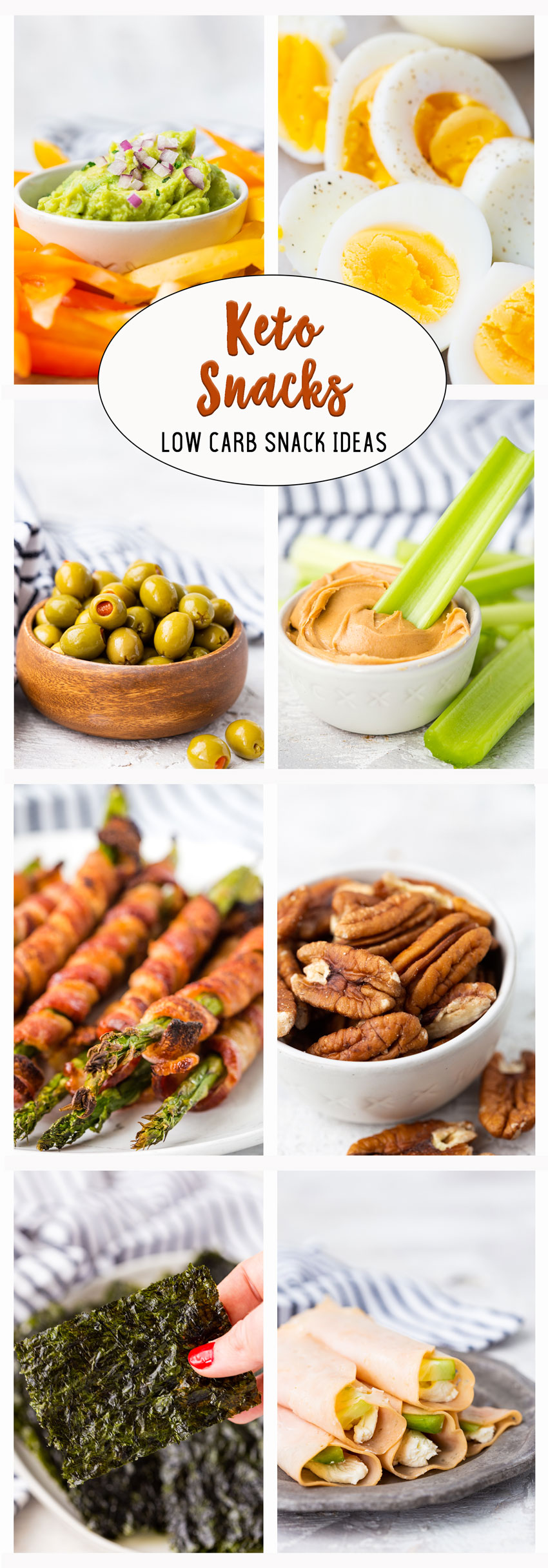 The best tasty low carb snack ideas for keto diet