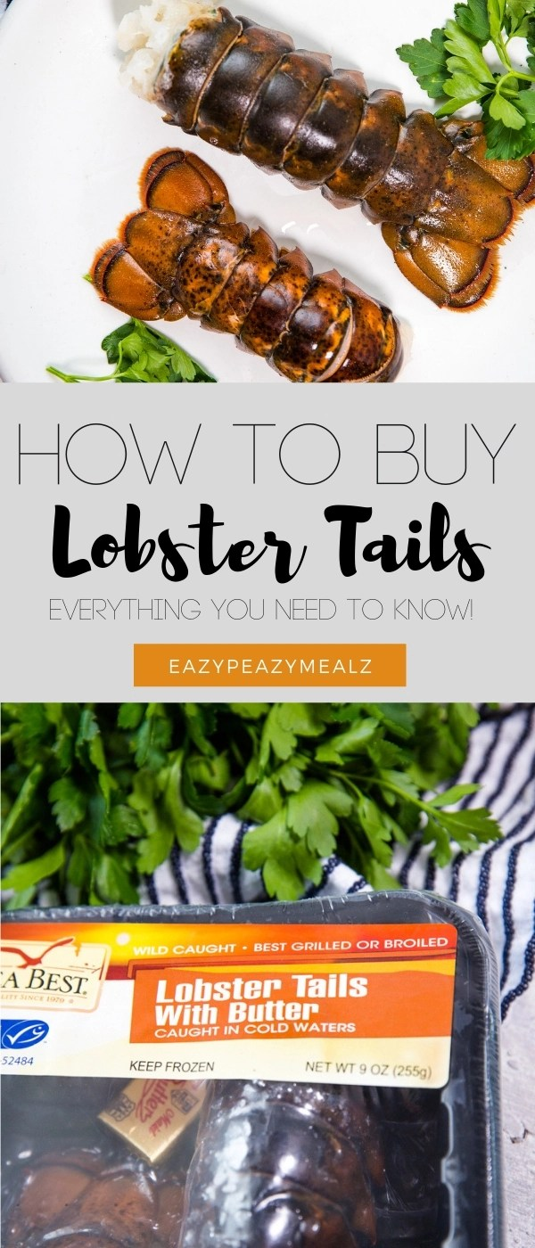 How to buy lobster tail from frozen. All the tips you need to know to get good quality lobster