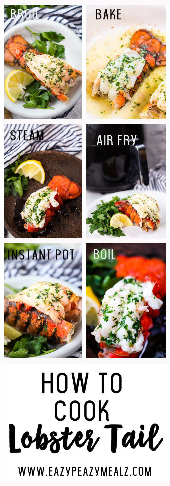 Lobster: How to Cook Lobster Tail - Easy Peasy Meals