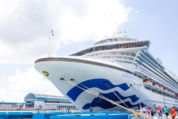 Ocean Meddallion Class Experience ship Princess Cruise