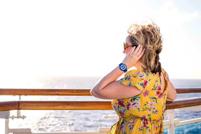 Ocean Medallion on my wrist on a Princess Cruise