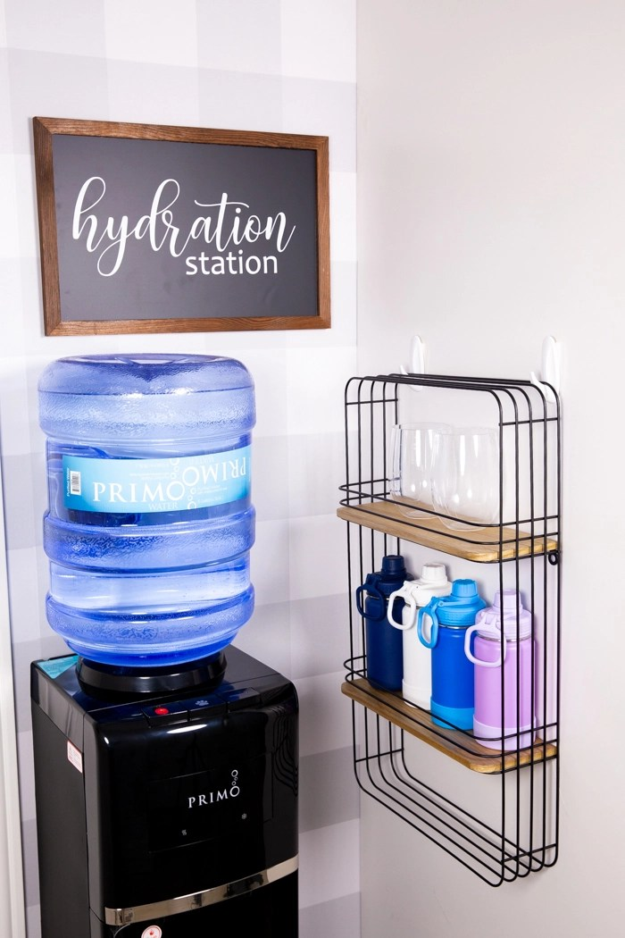 Hydration station with Primo Water dispenser