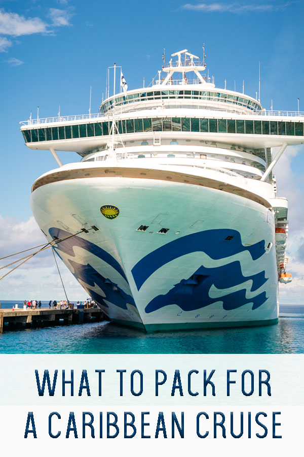 What to pack for a caribbean cruise, packing list