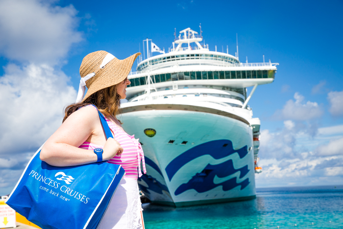 Bring a day pack or bag for your cruise