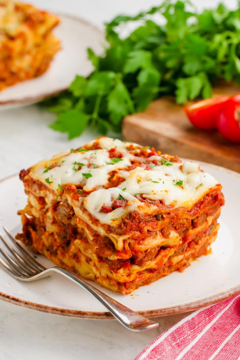 Crockpot Lasagna Easy Peasy Meals