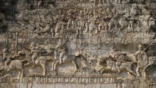 San Joaquin Church - Facade Detail