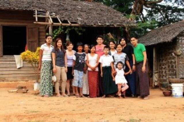 Htay Htay's Family