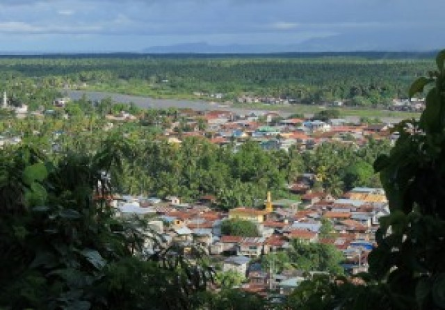 View of Cotabato City from PC Hill
