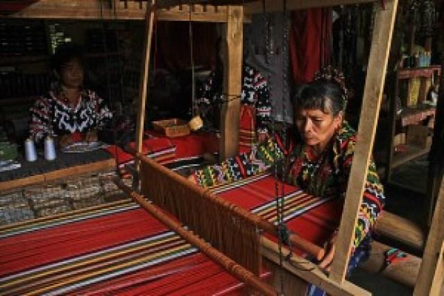 T'boli Weaving in T'boli, South Cotabato