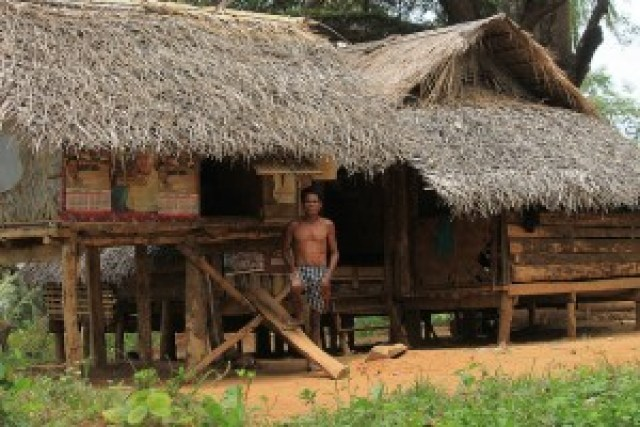 Traditional Pala'wan House