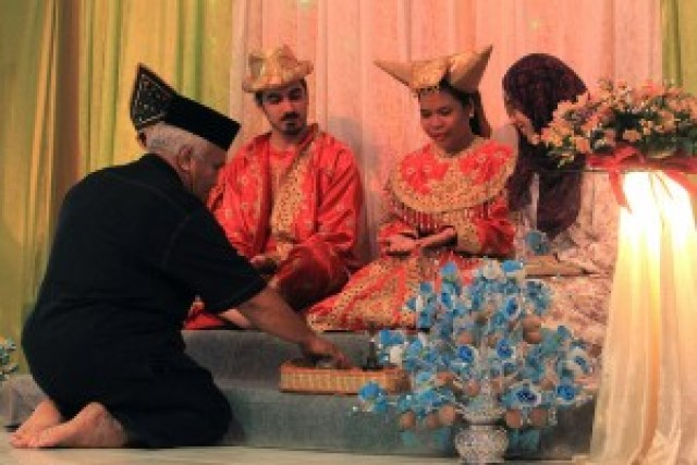 Adat Perpatih Wedding Ceremony