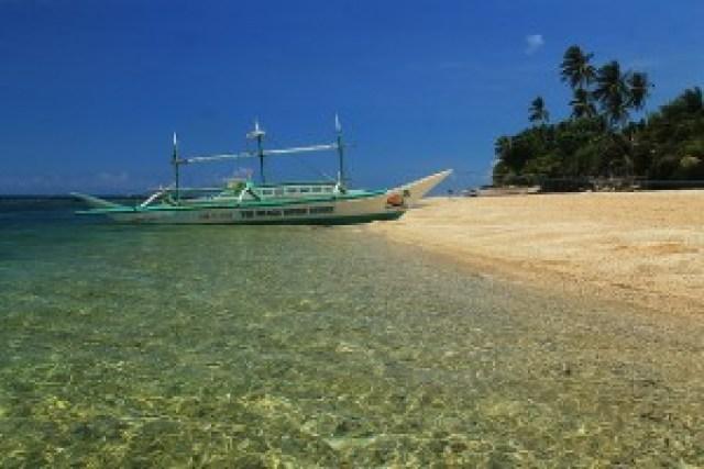 Lanas Beach, Carabao Island, Romblon