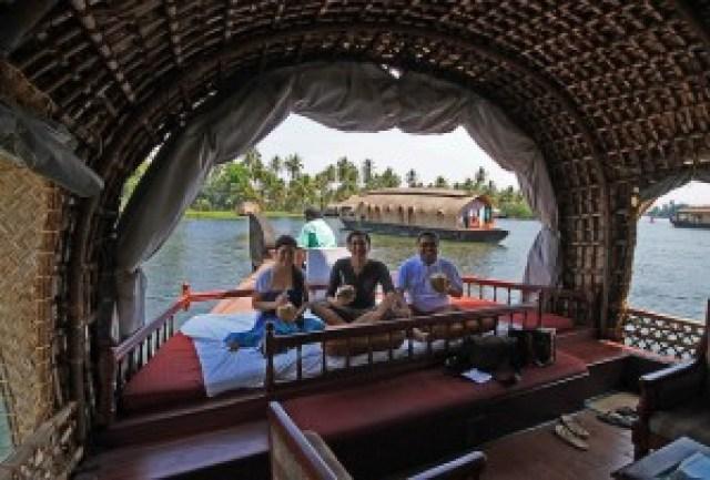 Kettuvallam (Houseboat) Overnight Cruise