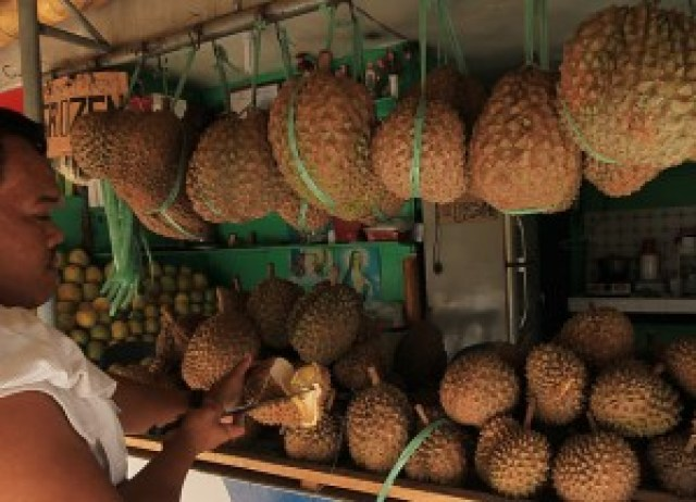 Magsaysay Park Durian Stand