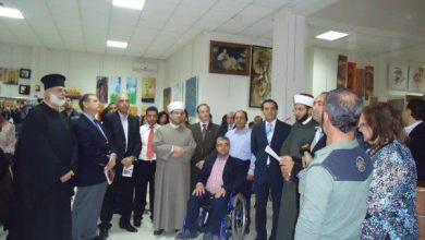 صورة برجا تشارك في المعرض الإسلامي لإدمون بطرس