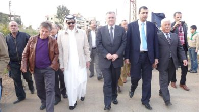صورة الاتحاد العربي للتطوع يشارك بحملة تشجير ببرجا