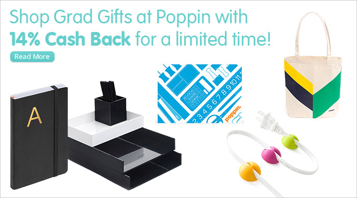 Great Gifts for Grads from Poppin