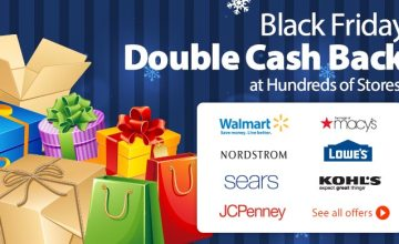 Shop the Ebates Black Friday Sale!