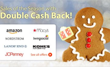 Get Your Shopping Done with Double Cash Back