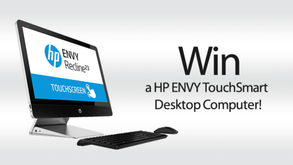 Win a HP Desktop Computer!