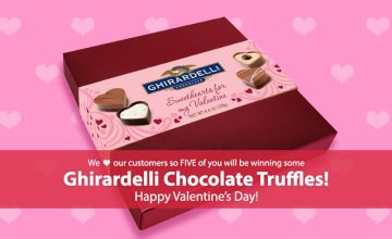 Celebrate Cupid with a Sweet Giveaway – 4 Days only!