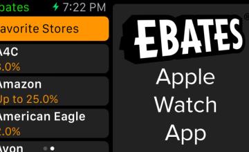 Announcing the Ebates Apple Watch App