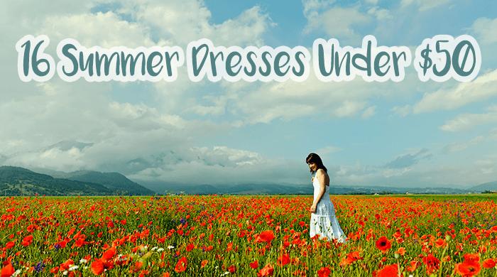 16 Summer Dresses Under $50