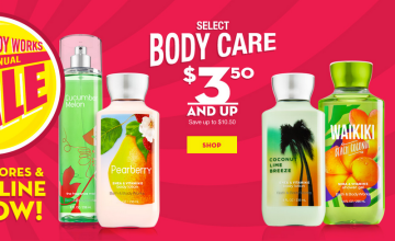 Bath & Body Works Semi-Annual Sale is Here!