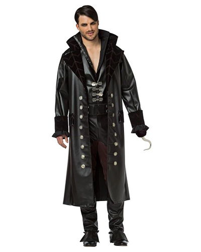 Men's Captain Hook Costume