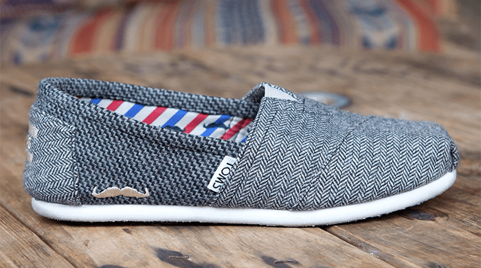 Support Movember in Style With TOMS