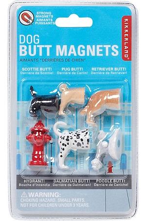 Dog Butt Magnet Set
