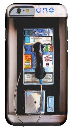 Public Pay Phone iPhone 6 Case