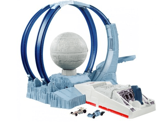 Star Wars Carships Death Star Revolution Race Track Set