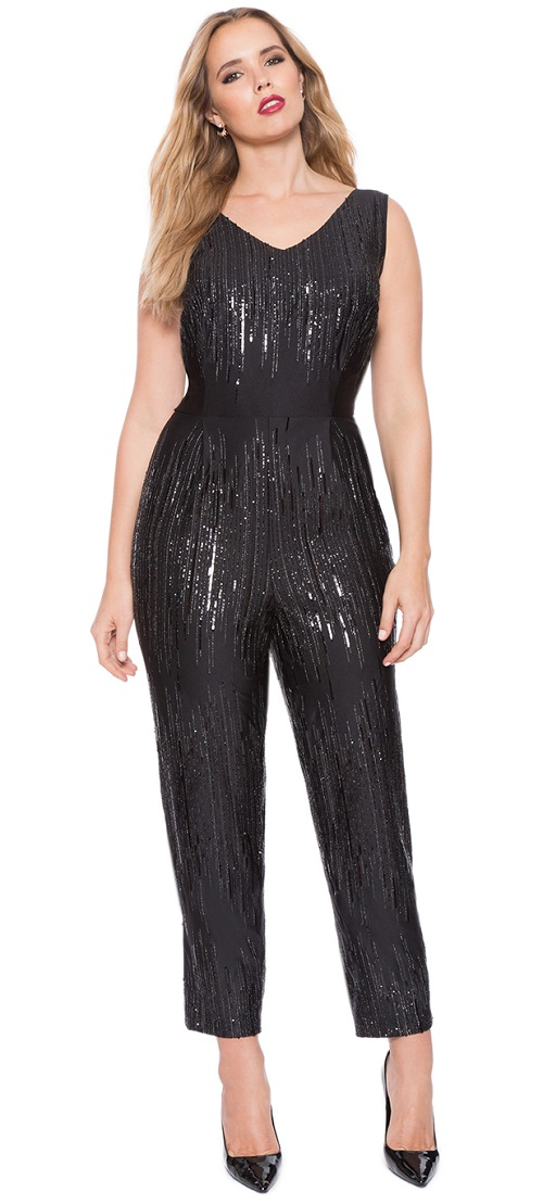 Studio Sequin Jumpsuit