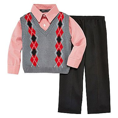 Sweater Vest Set