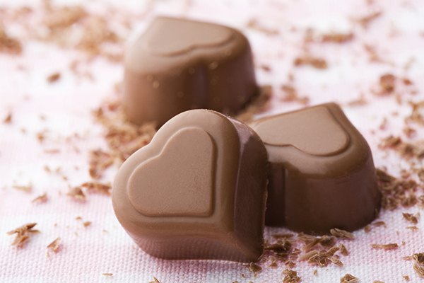Heart Shaped Chocolates