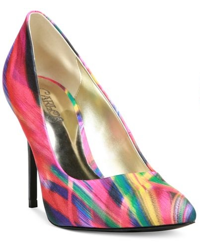Carlos by Carlos Santana Posy Pumps