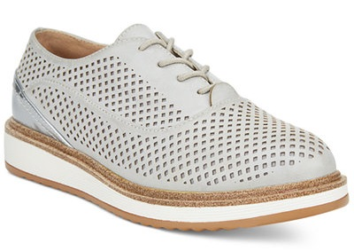 Wanted MacDaddy Perforated Lace-up Oxfords