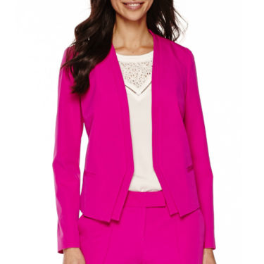Worthington® Long-Sleeve Open-Front Suit Jacket