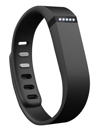 Black Fitbit Flex fitness tracker wearable