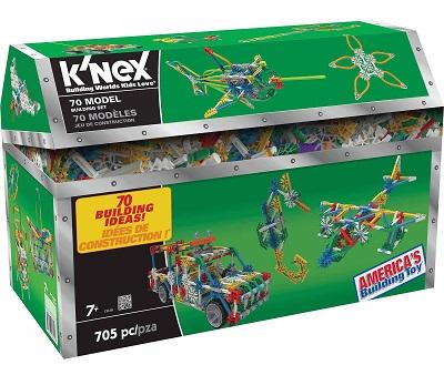 Green box of K'NEX